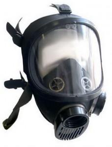 Лицевая часть - панорамная маска ППМ (Противогаз ППФ-95 ППМ-88)