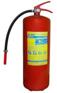 Огнетушитель ОВП- 10(з) зимний